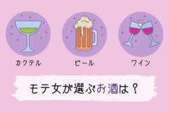 """【性格診断】居酒屋デートで注文すべき♡""""モテ女""""の選ぶお酒はどれ?"""