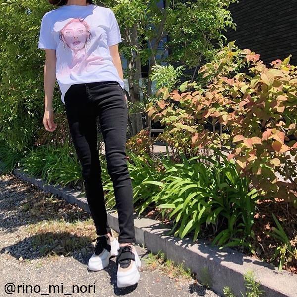 シンプルも柄物も♡【ZARA】のゆる可愛い「Tシャツコーデ」4選