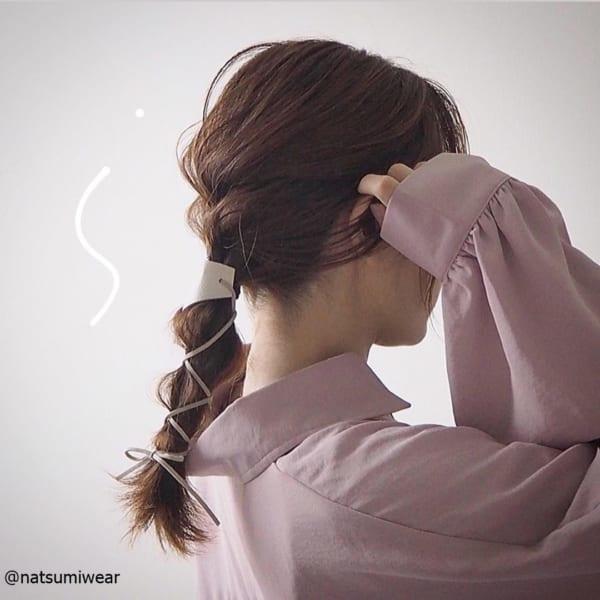【雨でも可愛く!】ストレスフリーのまとめ髪4選