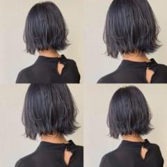 ただの黒髪じゃない!今流行りの「ネイビーヘア」はコレ♡