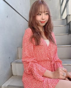 女っぽくてカワイイ♡「夏向け」ブラウンヘアー