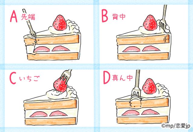 【性格診断】実はストレスたまってる?!ショートケーキの食べ方で分かる「あなたの性格」