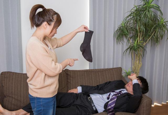 「脱いだら脱ぎっぱなし…!」だらしない夫を【しっかりさせる】方法